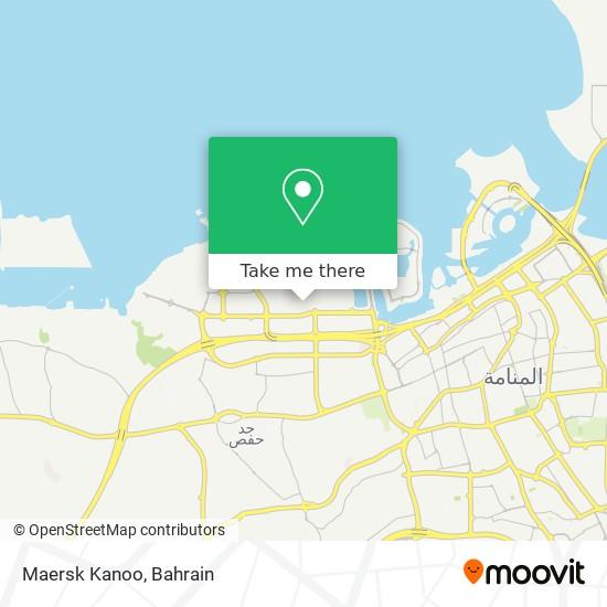 Maersk Kanoo map