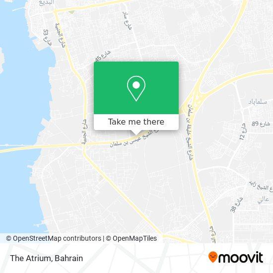 The Atrium map