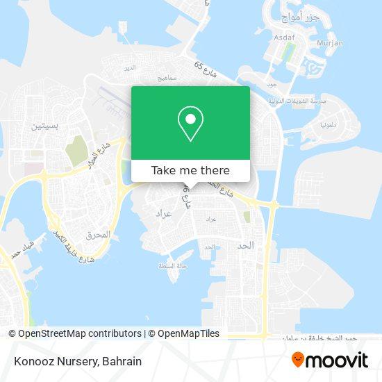 Konooz Nursery map