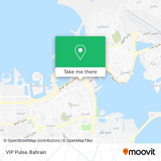VIP Pulse map