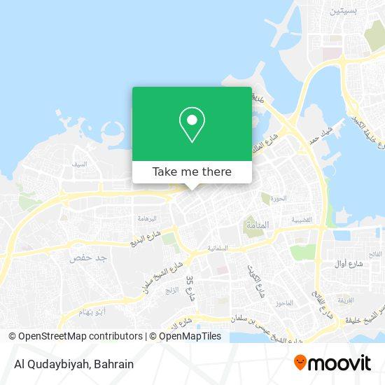 Al Qudaybiyah map