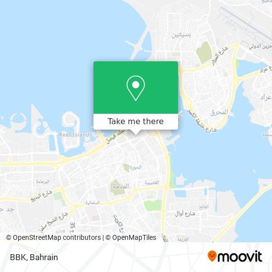 BBK map