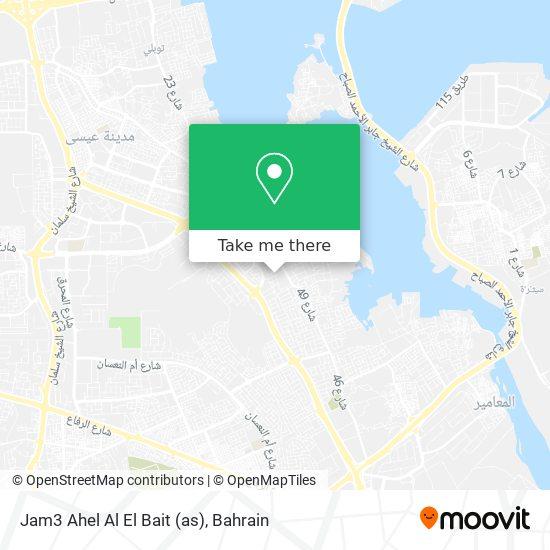 Jam3 Ahel Al El Bait (as) map