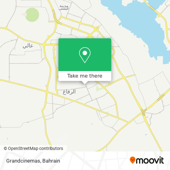 Grandcinemas map