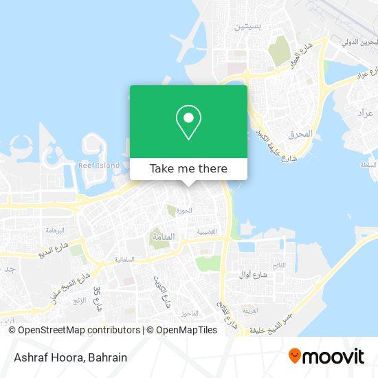 Ashraf Hoora map