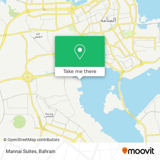 Mannai Suites map
