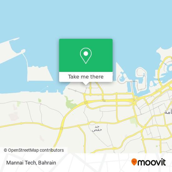 Mannai Tech map