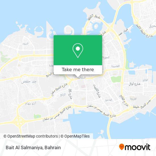 Bait Al Salmaniya map