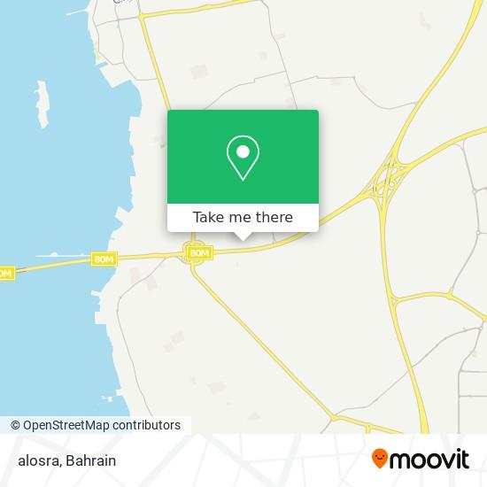 alosra map