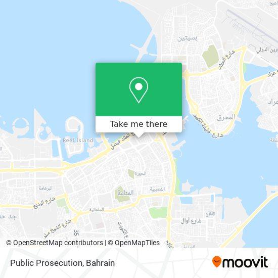 Public Prosecution map