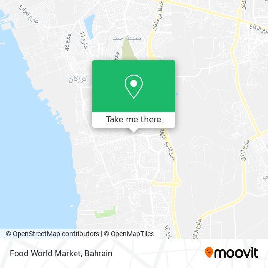 Food World Market map