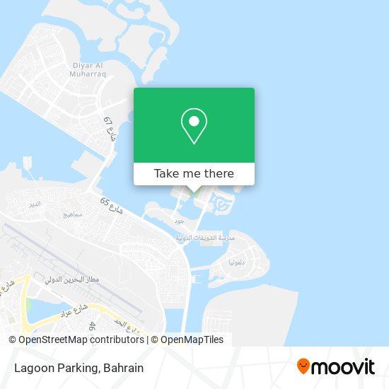 Lagoon Parking map