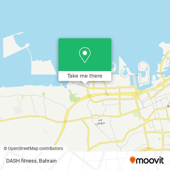 DASH fitness map