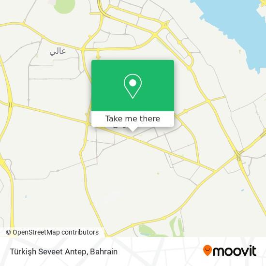 Türkişh Seveet Antep map