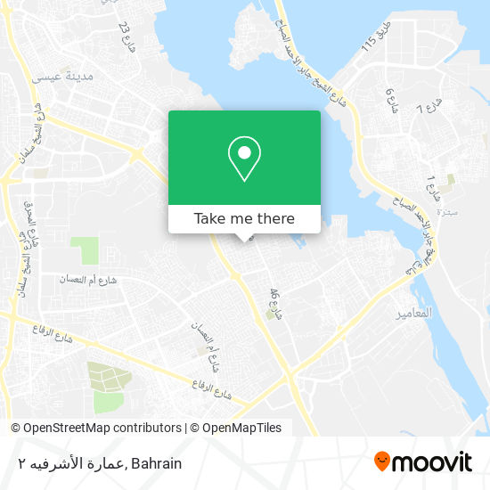 عمارة الأشرفيه ٢ map