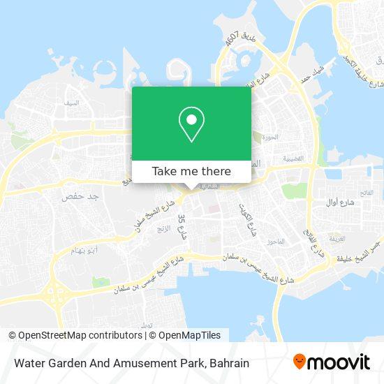 Water Garden And Amusement Park map