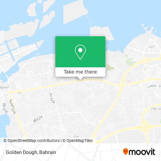 Golden Dough map