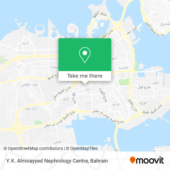 Y. K. Almoayyed Nephrology Centre map