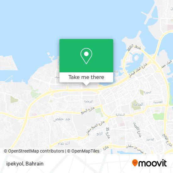 ipekyol map