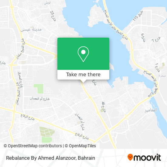 Rebalance By Ahmed Alanzoor map