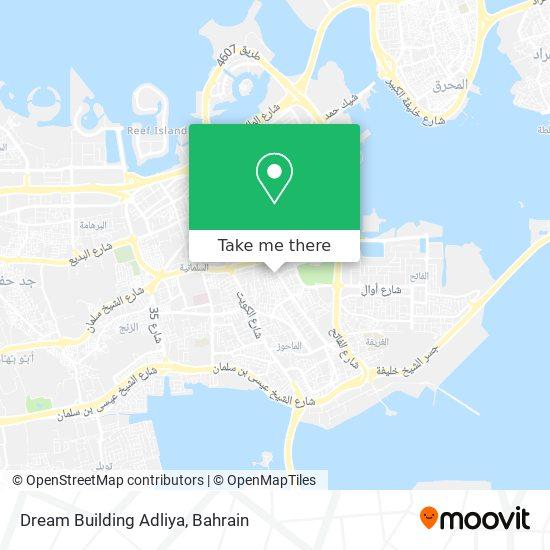 Dream Building Adliya map