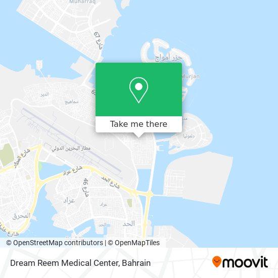 Dream Reem Medical Center map