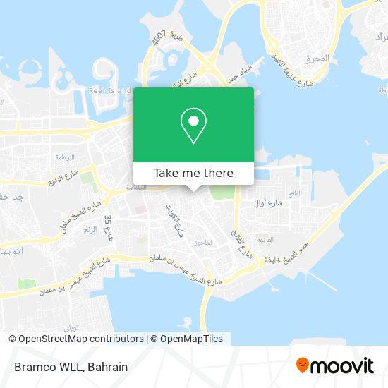 Bramco WLL map