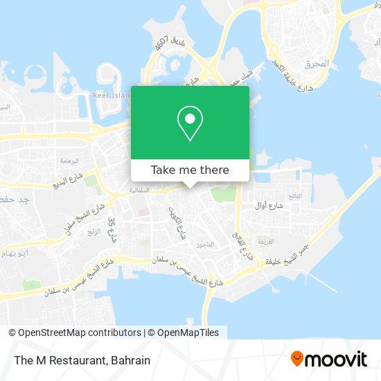 The M Restaurant map