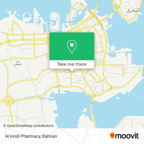Al kindi Pharmacy map