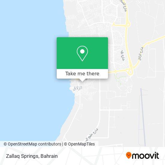 Zallaq Springs map