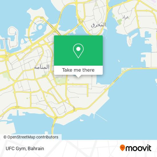 UFC Gym map