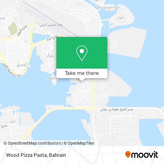 Wood Pizza Pasta map