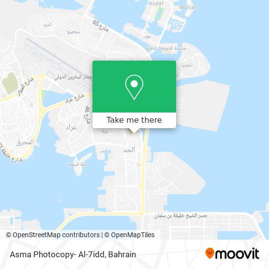Asma Photocopy- Al-7idd map