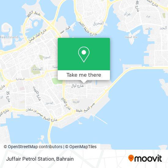 Juffair Petrol Station map