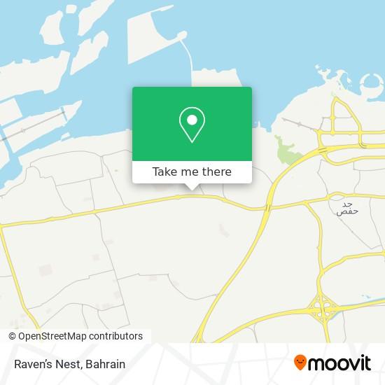 Raven's Nest map