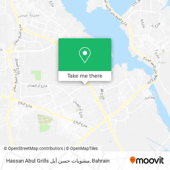 Hassan Abul Grills مشويات حسن أبل map