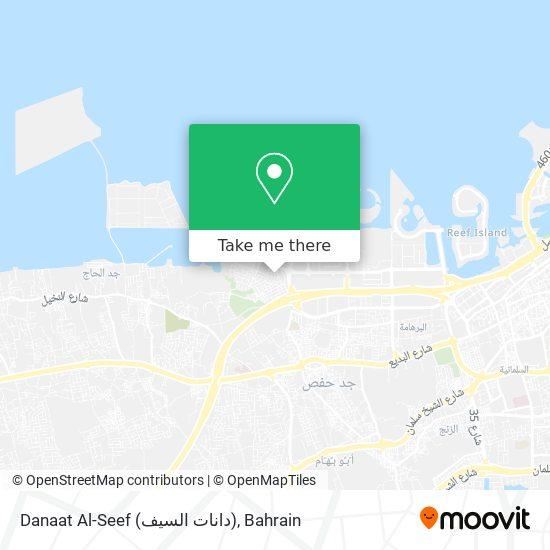 Danaat Al-Seef (دانات السيف) map