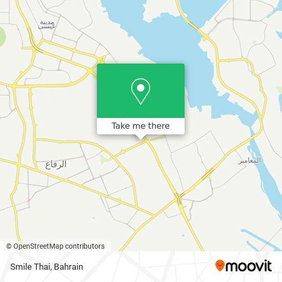 Smile Thai map