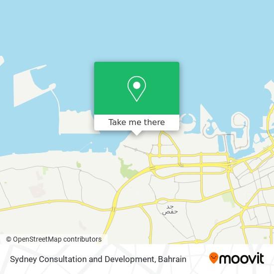Sydney Consultation and Development map