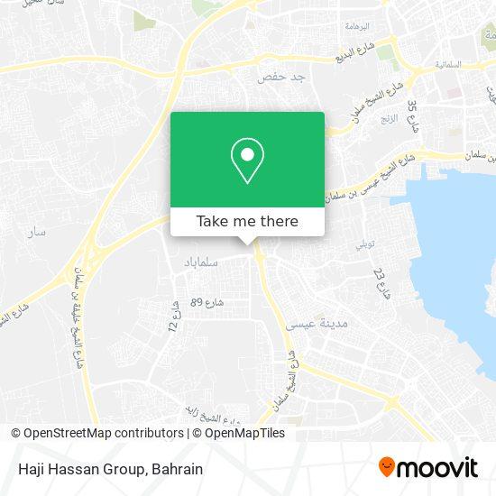Haji Hassan Group map
