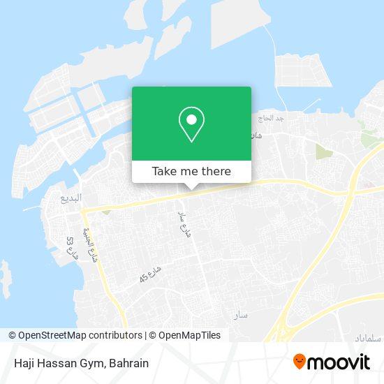 Haji Hassan Gym map