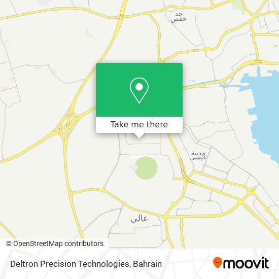 Deltron Precision Technologies map