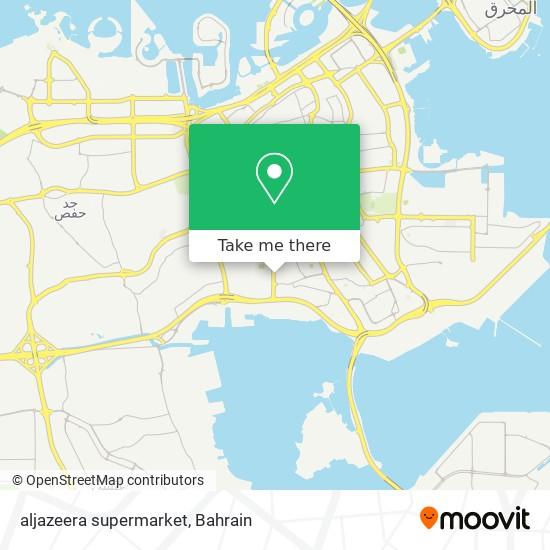 aljazeera supermarket map