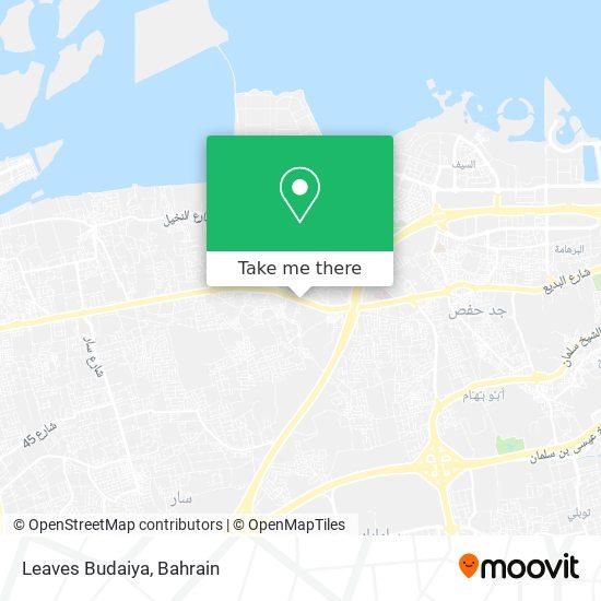 Leaves Budaiya map