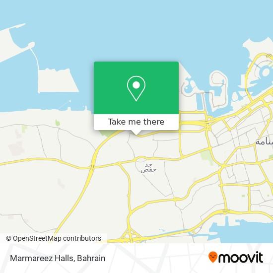 Marmareez Halls map