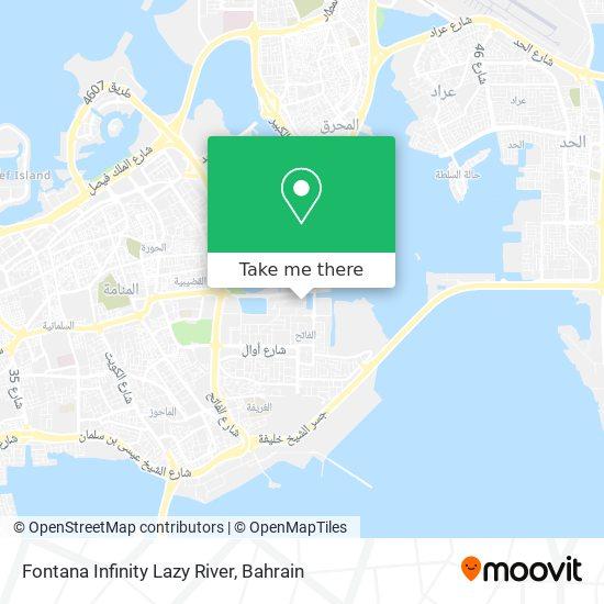 Fontana Infinity Lazy River map