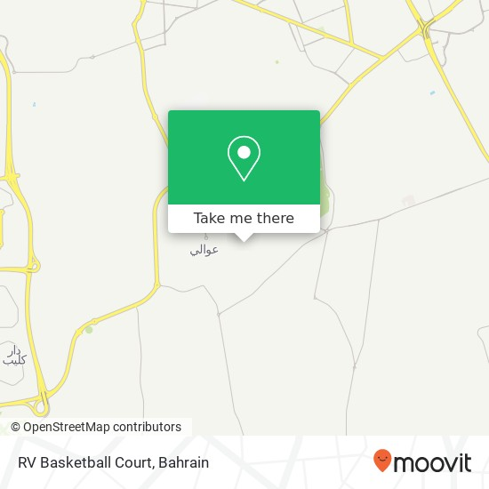 RV Basketball Court map