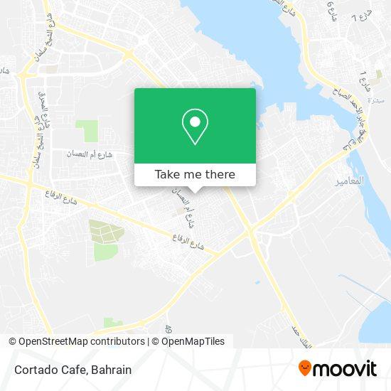 Cortado Cafe map