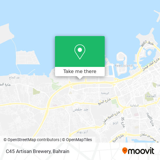 C45 Artisan Brewery map