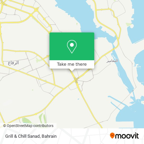 Grill & Chill Sanad map